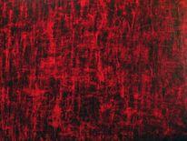 Rot, Acrylmalerei, Abstrakt, Malerei