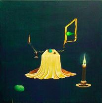 Surreal, Acrylmalerei, Malerei, Traum