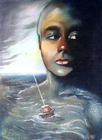 Malerei neu, Wasser, Wasserlandschaft wasser licht, Wasserlandschaft