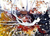 Siehe beschreibung, Malerei, Abstrakte malerei, Mischtechnik