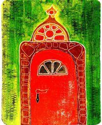 Tor, Farben, Dekoration, Abstrakte malerei
