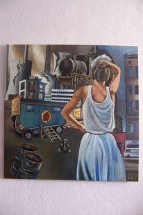 Malerei, Leben,