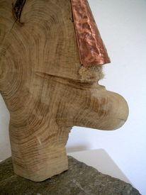 Plastiken, Abstrakte kunst, Holzskulptur, Holz