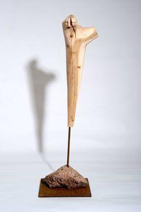 Moderne kunst, Holzskulpturen, Holzbildhauerei, Holz