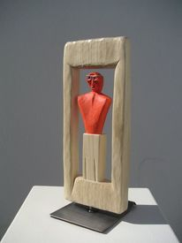 Gartenskulptur, Holzskulpturen, Abstrakte kunst, Skulptur