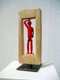 Holzbildhauer, Holz, Gartenskulptur, Moderne kunst