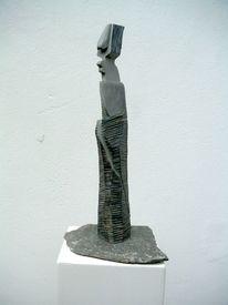 Plastiken, Holzskulptur, Skulptur, Moderne kunst