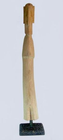 Holzskulpturen, Holzbildhauer, Moderne kunst, Gartenskulptur