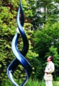 Kinetische wind skulptur, Kunst am bau, Oeffentliche kunst, Kinetik