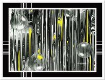 Grafik, Digital galerie, Abstrakt digitale kunst, Rahmen