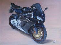 Ölmalerei, Honda, Malerei, Gegenständlich