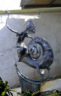 Akt, Kunsthandwerk, Metall