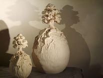 Keramik unikat, Porzellan, Plastik, Surreal