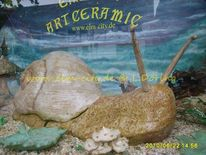Objekt, Schnecke, Keramik, Formen