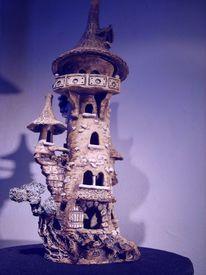 Skulptur, Windlichter, Beleuchtungsobjekt, Steinzeug
