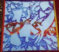 Objektkunst, Acrylmalerei, Malerei, Spiegel