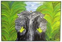 Acrylmalerei, Objektkunst, Malerei