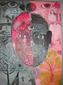 Bipolar, Manisch, Depression, Rot