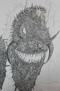 Zeichnungen, Mythologie, Eingang, Hölle