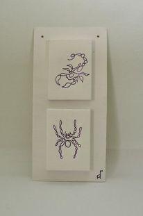 Oneliner, Zeichnung, Einzelstück, Abstrakt