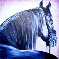 Haustier, Rappe, Acrylmalerei, Portrait