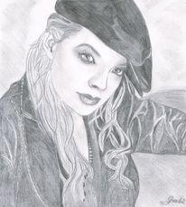 Bleistiftzeichnung, Portrait, Malerei