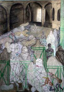 Manet, Christo, Balkon, Malerei