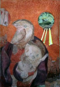 Kinde, Malerei, Madonna
