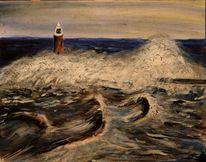 Bewegung, Küste, Landschaft, Sturm