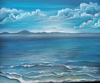 Meer, Wasser, Welle, Malerei