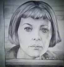 Schauspieler, Frau, Malerei, Welt