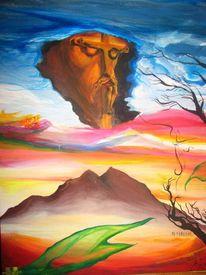 Religion, Wesen, Landschaft, Wolken