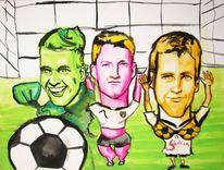 Fußball, Schwein, Leder, Wm