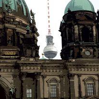 Design, Berlin, Verfremdete fotografie, Stadtmotive