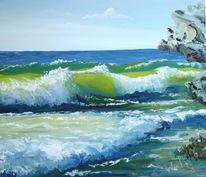 Wasser, Meer, Welle, See