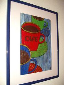Kaffee, Malerei
