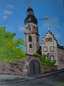 Speyer, Läutturm, Dreifaltigkeitskirche, Altstadt