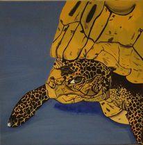 Schildkröte gretel speyer, Malerei
