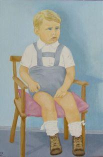 Kleinkind, Portrait, Kind, Junge