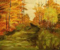 Natur, Landschaft, Herbst, Wald