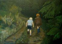 Menschen, Märchen, Kinder, Landschaft