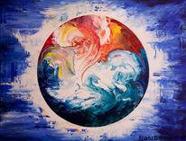 Informele kunst, Abstrakte kunst, Abstrakte malerei, Oil malerei