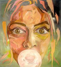 Portrait, Design, Kopf, Struktur