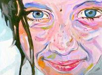 Kopf, Lächeln, Gesicht, Portrait