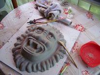 Skulptur, Kunsthandwerk, Maske