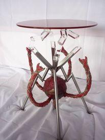 Tentakel, Tisch, Designmöbel, Verfall