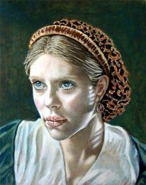 Gesicht, Realismus, Ölmalerei, Portrait