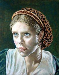Realismus, Ölmalerei, Portrait, Figural