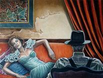 Drama, Ölmalerei, Theater, Figural