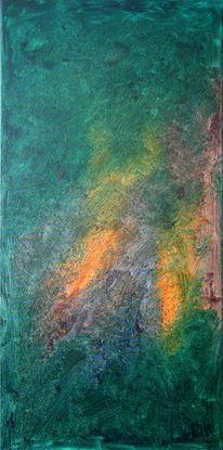 Maahn, Wart, Ölmalerei, Wolf
